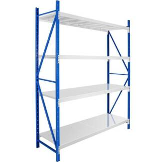 1.5M Steel Garage Warehouse RackStorage Shelving Workbench