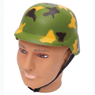 # Armee Tarnmuster Helm Militär Kostüm Erwachsene Plastik