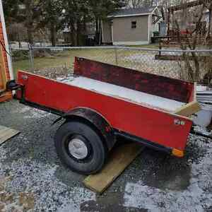 6 Foot Long Utility Trailer for Sale