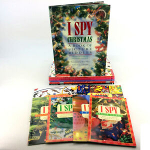 Lot 12 I Spy Books Picture Riddle Puzzle Series For Kids  5-10