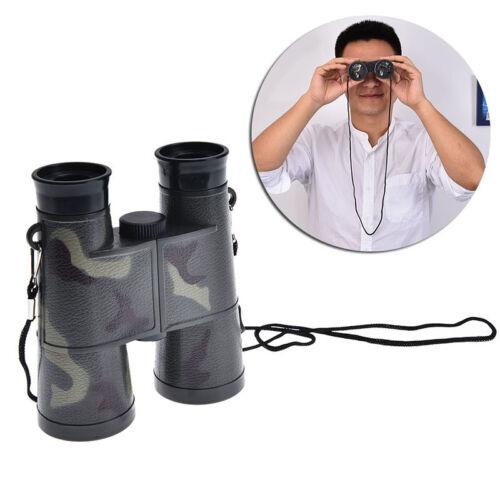children folding outdoor binoculars telescope scope camouflage toy kids gift GS
