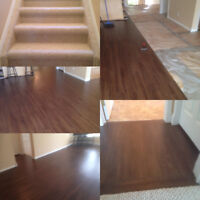 Professional Carpet and Flooring Installer