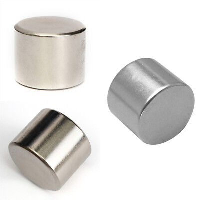 Block Round Disc Ring Hole Rare Earth Neodymium Magnets N52 Grade 25x20mm