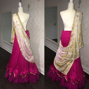Indian lengha and duppatta ( 2 piece )