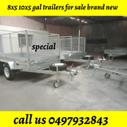8X5 GAL WITH CRATE CAGES BOX TRAILER HEAVY DUTY 8X5 GAL TRAILER 1 Dandenong Greater Dandenong Preview
