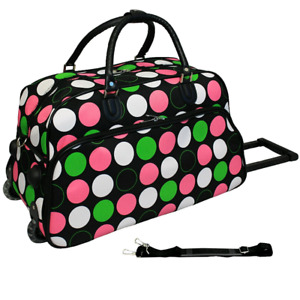 """21"""" Carry-on  rolling Duffle bag"""