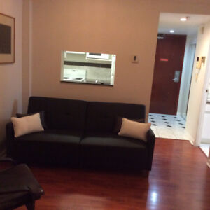 Furnished studio downtown