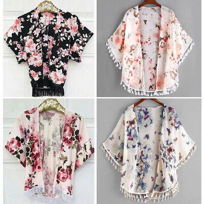 USA Toddler Kids Baby Girl Cardigan Outfits Kimonos Coat Jacket Cover Up Clothes](Toddler Kimono)