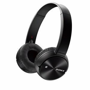 Sony MDRZX330BT/B On-Ear Wireless Headphones (Bl