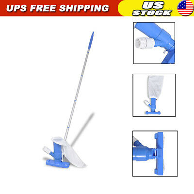 """Swimming Pool Vacuum Cleaner 3' 11"""""""" Above Ground Cleaning Tool+Garden Hose"""