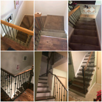 Flooring and stairs installer