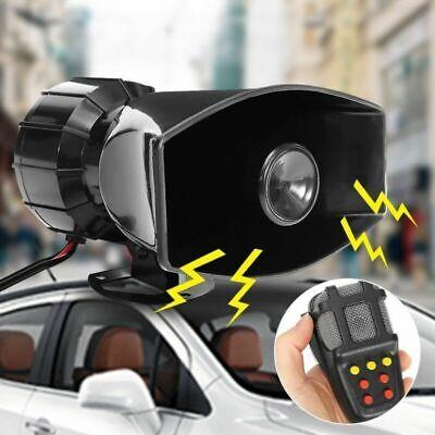 Car Alarm Horn 12V 100W Emergency Siren Horn Mic PA Speaker System Loud Alarm US for sale  China