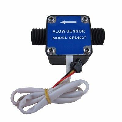 """G1/2"""" Oil Fuel Gas diesel Milk Water Liquid Flow Sensor Flow Meter Counter new"""