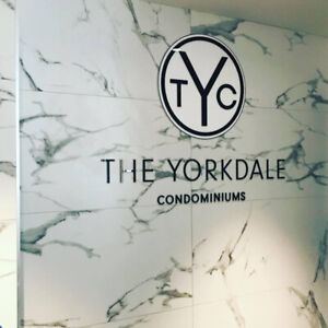 Two bedroom, two bathroom condo at Yorkdale Mall.