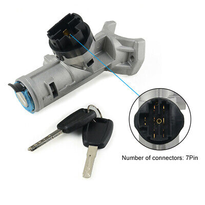 7Pin Ignition Switch Barrel Lock With Key Fit For CITROËN JUMPER Bus 1348421080
