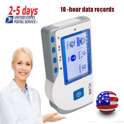 Us Portable Lcd Ecg Ekg Heart Beat Rate Monitor Interpretation 1channel Medical