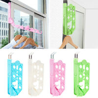 Over Door Folding Airer Drying Rack Towel Rail Laundry Hanger Clothes Dryer Ty - sieges - ebay.co.uk