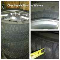 Chevy Impala tires and rims