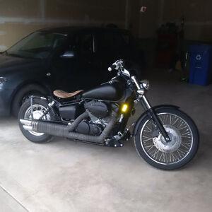 Custom Honda Shadow bobber