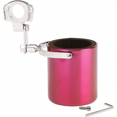 CUP HOLDER Pink Stainless Steel Motorcycle Drink 1