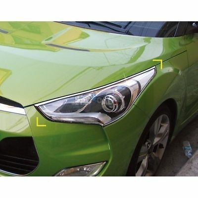 Chrome Door Catch Handle Cover Molding K-497 for HYUNDAI 2011-17 Veloster Turbo