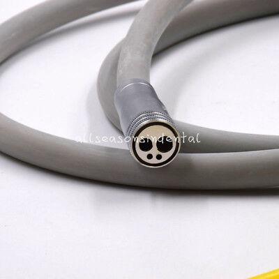 Dental Silicone Tubing Hose Air Turbine High Motor Handpiece Connector 4 Holes
