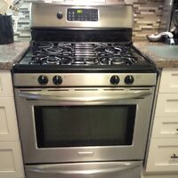 Stainless Steel Gas Range for Sale