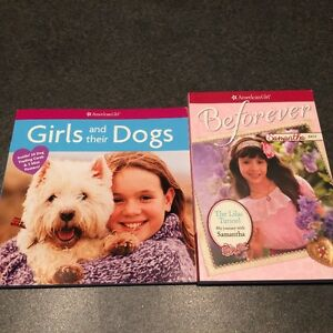 American Girl Books-Samantha & Girls and their Dogs