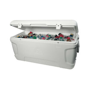 NEUF GLACIÈRE 150 JUMBO CHASSE PÊCHE CAMPING BBQ GLACIERE COOLER