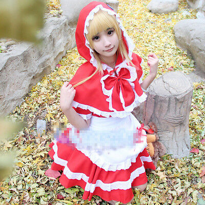 League of Legends LOL Red Riding Annie Cosplay - Annie Lol Cosplay Kostüm