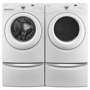 Whirlpool WFW75HEFW 5.2 cu.ft.Front Load Washer YWED75HEFW Dryer