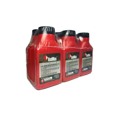 RedMax OEM MaxLife 2-Cycle Oil 2.6oz 6 Pack 1 Gallon Mix 580357201