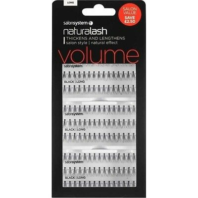 Salon System Naturalash Individual Eyelashes Eye Lashes Long Natural effect