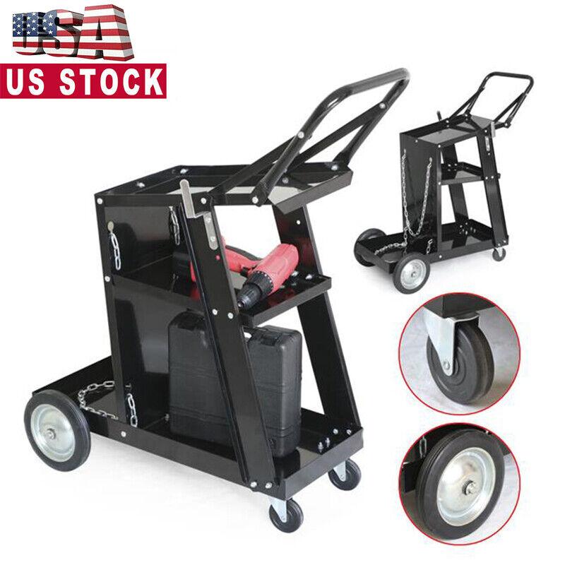 Professional Welding Cart Plasma Cutting Machine Welding Cart without Drawer