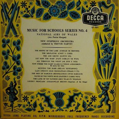 "New Symphony Orchestra(10"" Vinyl)National Airs Of Wales-Decca-LF 1221-U-VG+/Ex"