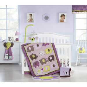 Baby Elephant Crib Bedding Set
