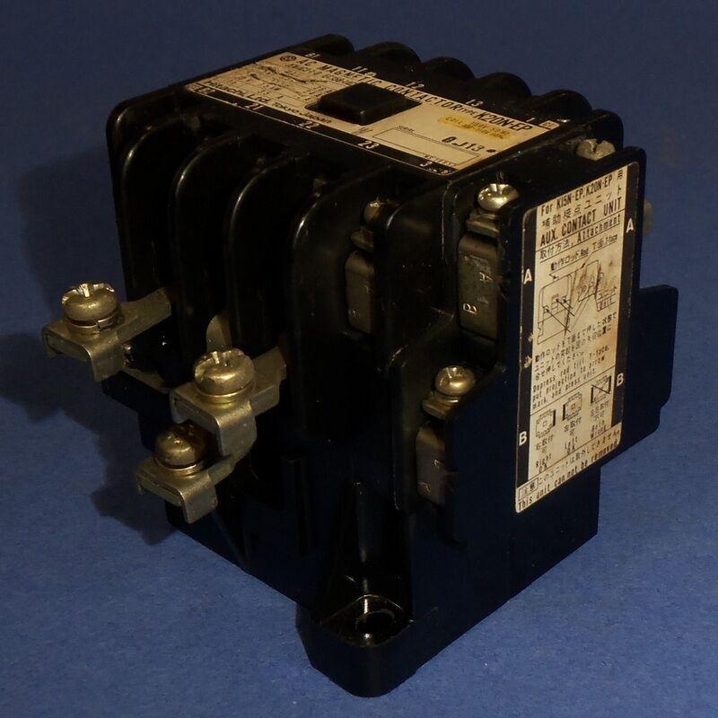HITACHI 100-110V COIL AC MAGNETIC CONTACTOR K20N-EP