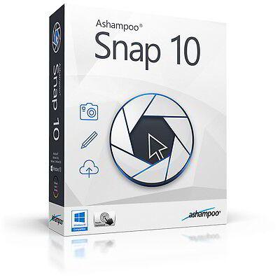 Ashampoo Snap 10 Foto Video deutsche Vollversion Download nur 16,99 statt 39,99!