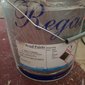 20 litre Regal paint pot, Mongolia colour