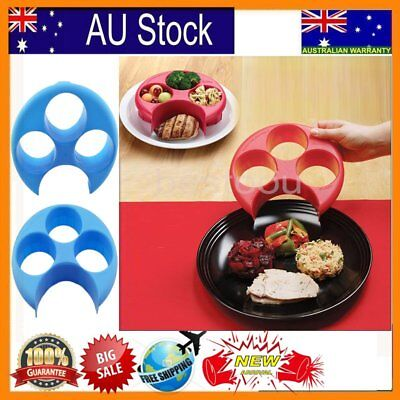 Meal Measure - Perfect Portion Control Plate - Diet, Weightloss, Slimming New wt Portion Control Plate
