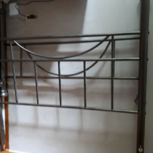 Queen Size Metal Headboard and Footboard