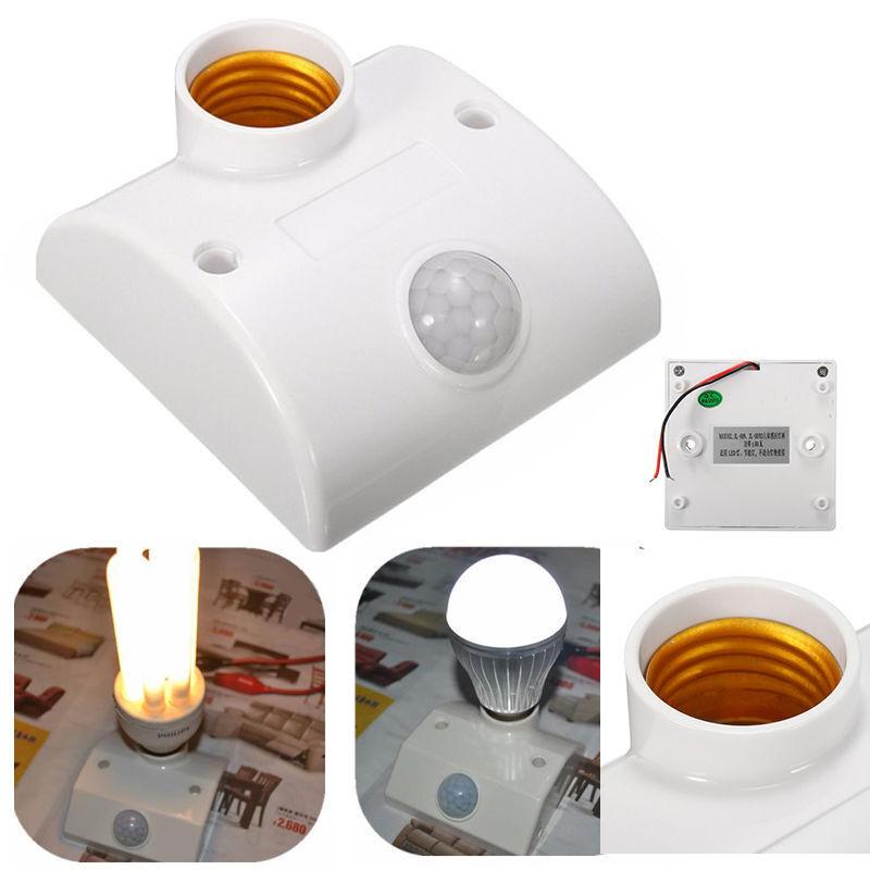 80W E27 Infrared Motion PIR Sensor Alarm Automatic LED Light