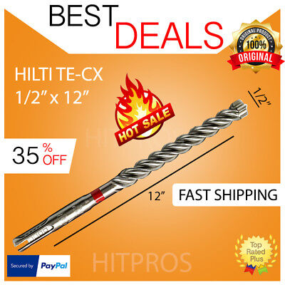 Hilti Te-cx 12 - 12 Hammer Drill Bit Brand New Very Strong Fast Shipping