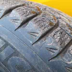 Gm chev 6 bolt winter rims tires  Peterborough Peterborough Area image 2