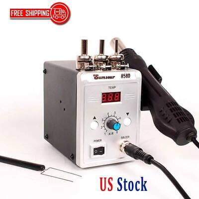 Hot Air Heat Gun Soldering Station Smd Smt Welding Repair Tools 220v110v New
