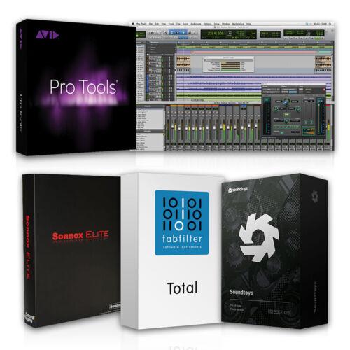 Pro Tools 10 HD Mac Or Pro Tools 12 HD win (plugin packs included)