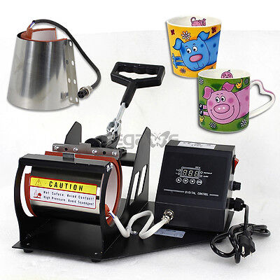 Various Mug Attachment 1112oz Latte Heat Press Transfer Machine Stainless Steel