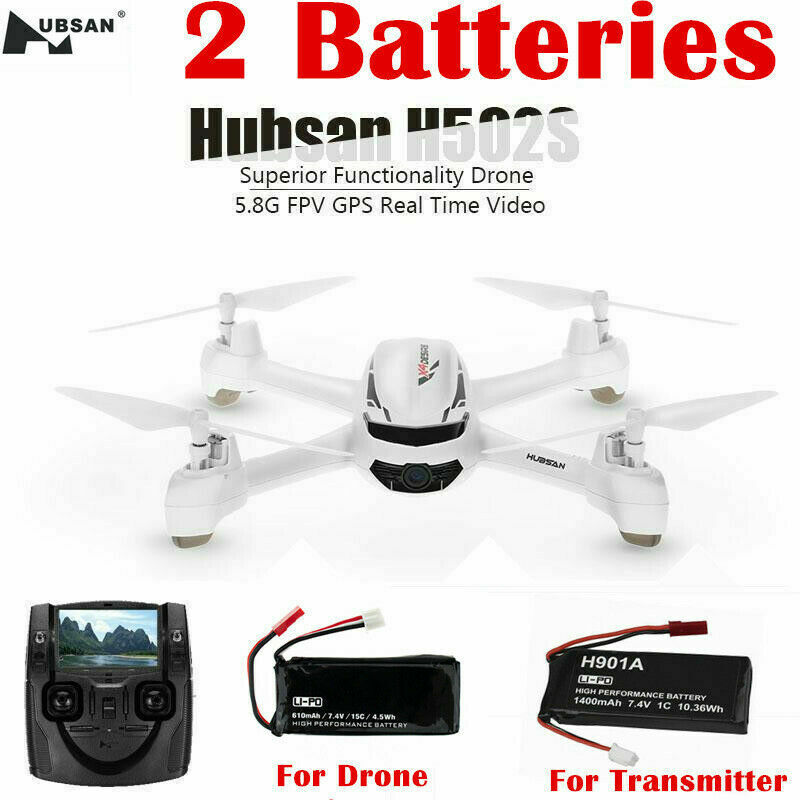 Hubsan H502S X4 5.8G FPV RC Quadcopter Drone W/ 720P Follow Me GPS Headless RTF