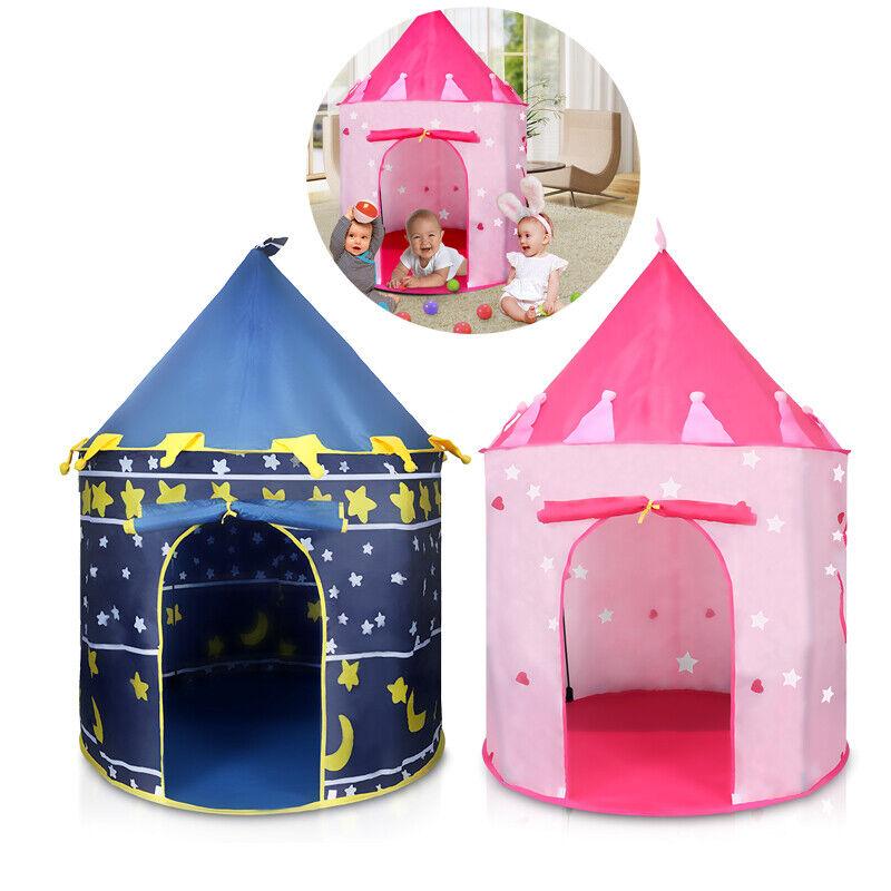 Portable Child Developmental Play Tent Girl Princess Indoor Castle Playhouse USA