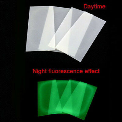 2pcs G10 Knife Handle Liner Fluorescent Effect Spacer Material DIY Sword Making for sale  Shipping to Canada